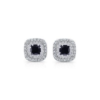 Winstons-Black-Diamond-Earrings-Studs-01