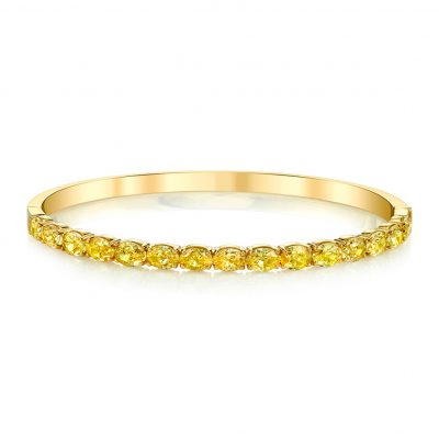 Winstons-Bracelet-Yellow-Diamond-Bangle-35