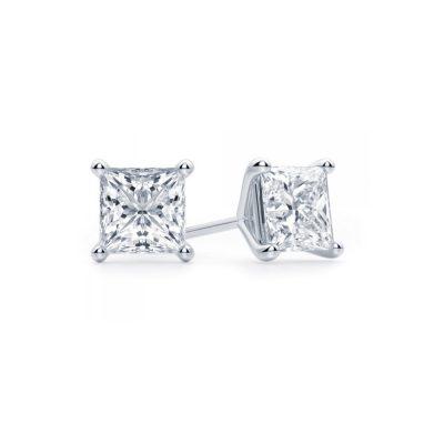 Winstons-Diamond-Stud-Earrings-Princess-001