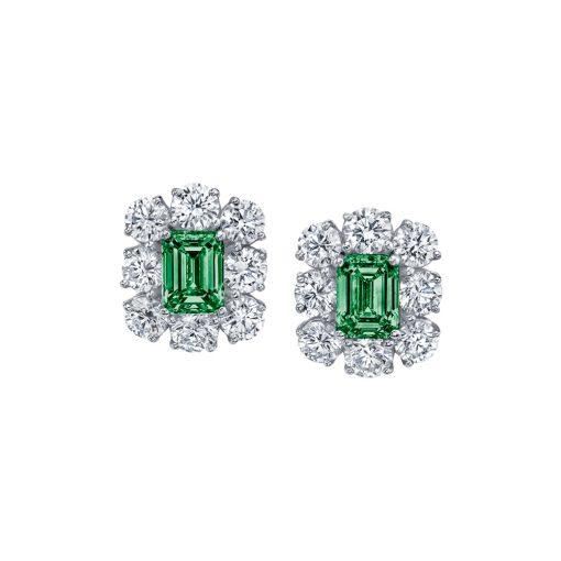 Winstons-Emerald-Diamond-Stud-Earrings-03