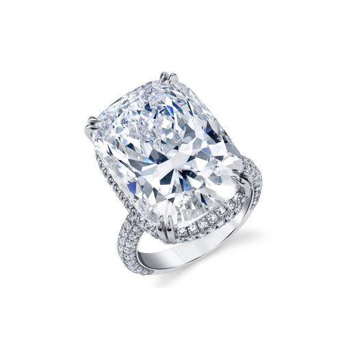 Winston's Engagement Ring 10 B