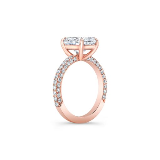 Winston's Engagement Ring Rose Gold B