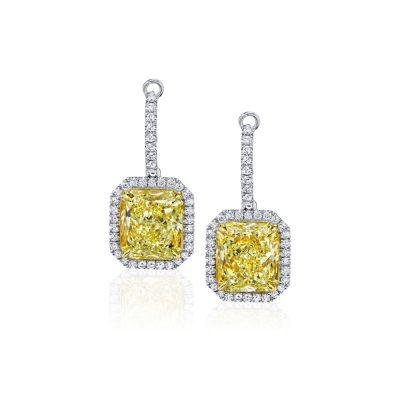 Winstons-yellow-Diamond-Earrings-Drop-011